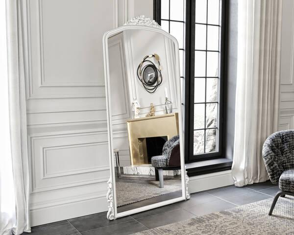 Avokado - Eva Peron Beyaz 90X190 Ayna