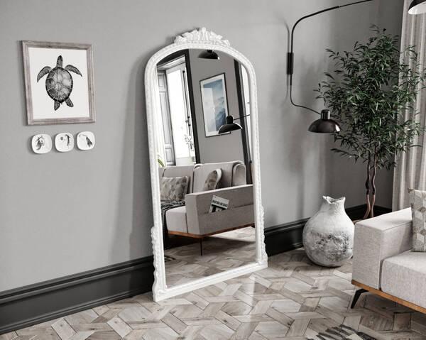 Avokado - Leda Beyaz 100X190 Ayna