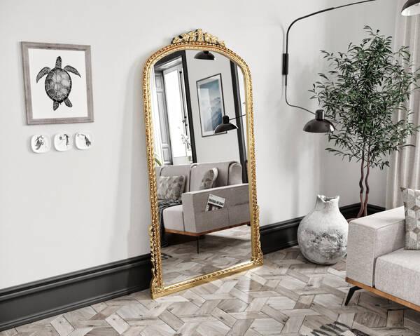 Avokado - Leda Gold 100X190 Ayna