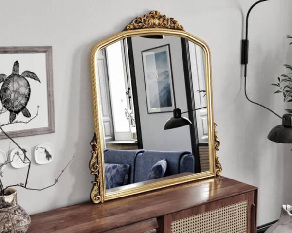 Avokado - Monno Gold 90X110 Makyaj Aynası