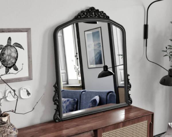 Avokado - Monno Siyah 90X110 Makyaj Aynası